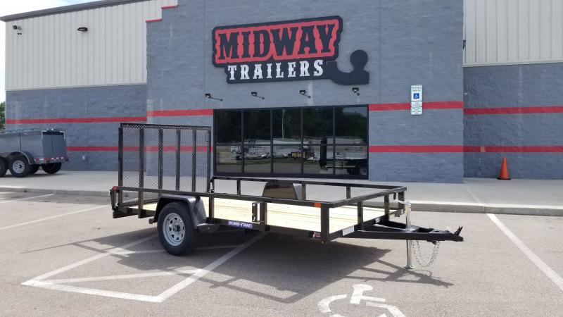 2021 Sure-trac 7' X 12' Tube Top 3k Utility Trailer
