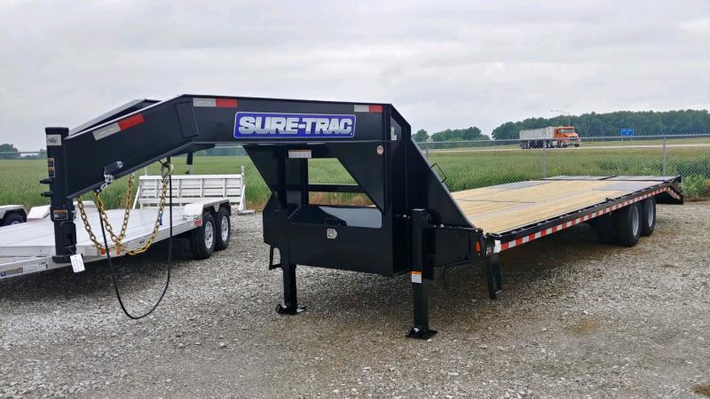 2021 Sure-trac 8.5'x25'+5' Deckover 25.9k Gn Deck Over Trailer