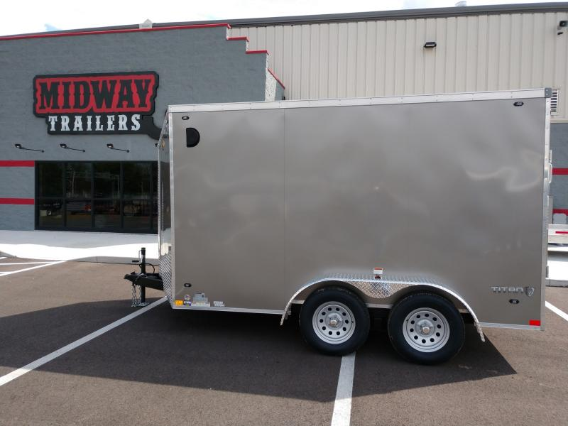 2022 Stealth Trailers 7'X12' 7K CHARCOAL Cargo / Enclosed Trailer