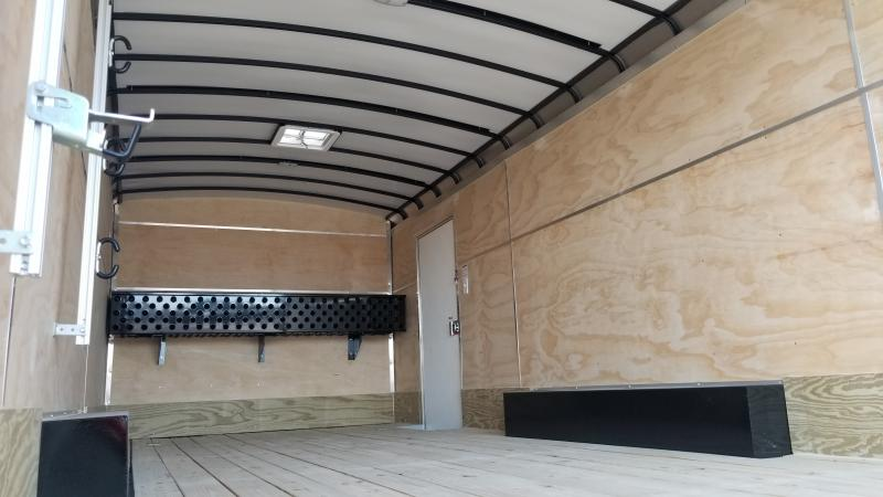 2021 Sure-trac 8.5'x24' Landscape Pro 10k White Enclosed Trailer