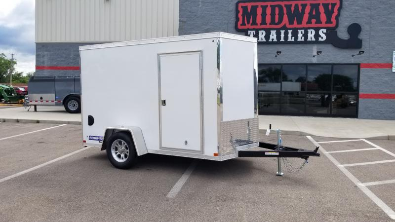 2021 Sure-trac 6'x10' 3k White Enclosed Trailer