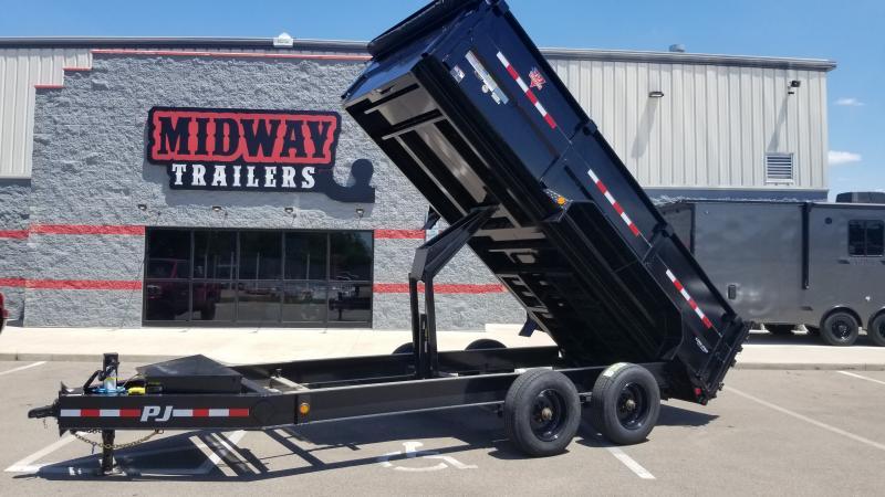 2022 PJ Trailers 7'X16' HD LP DUMP Dump Trailer