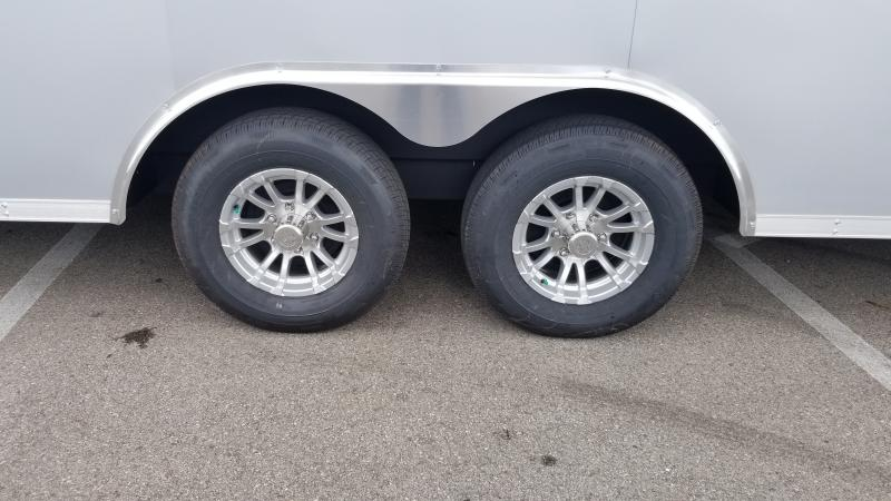 2021 Sure-trac 8.5'x24' C.hauler Silver Frost 10k Enclosed Trailer