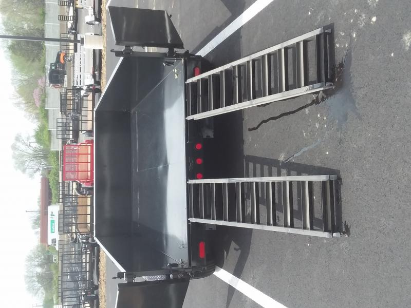 2022 PJ Trailers 7'X12' SCISSOR 14K Dump Trailer