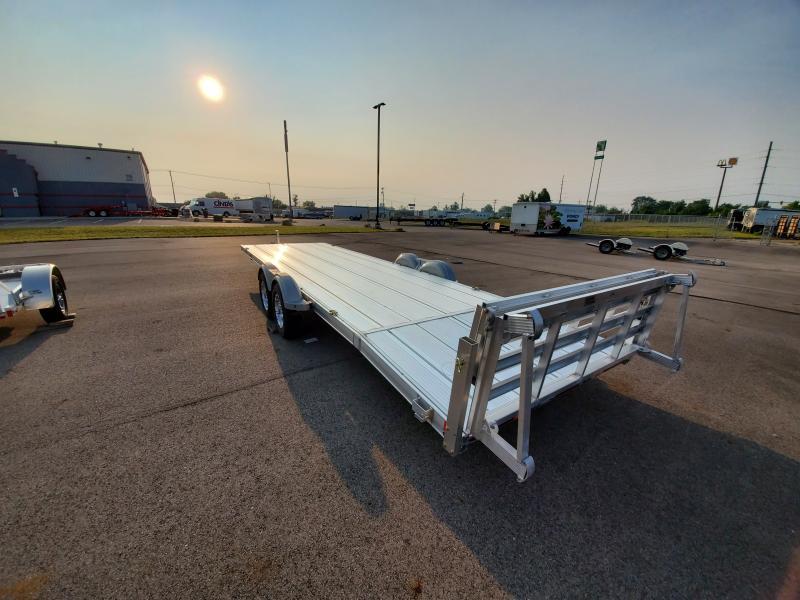 2021 Triton 7'x24' Alum. Utility 7k Utility Trailer