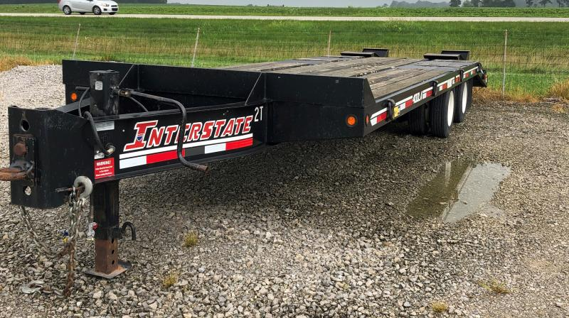 2015 Interstate 21+5 40k Deckover Deck Over Trailer