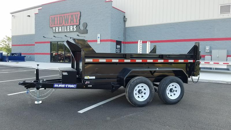2021 Sure-trac 6x10 Dump 10k Single Ram Dump Trailer
