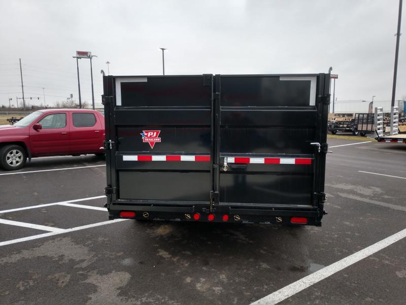 2021 Pj 7'x14' Gn Lp High Side Dump 14k Dump Trailer