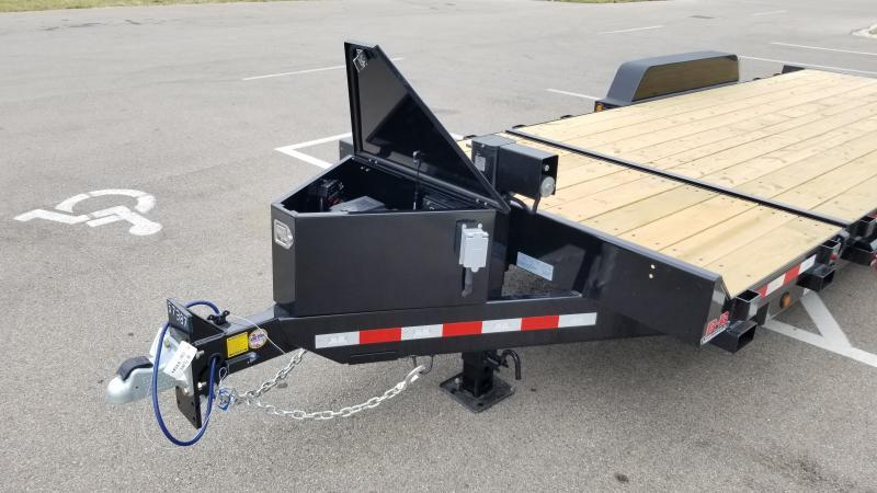 2022 B-B 7'X18'+4' TILK 16K Equipment Trailer