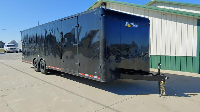 2020 Stealth 8.5x28 Viper 12k Black Bo Enclosed Trailer