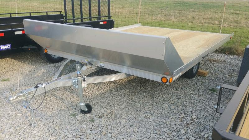 2020 Triton 8.5'x11' 2 Place Tilt W/salt Sheild Deck Over Trailer
