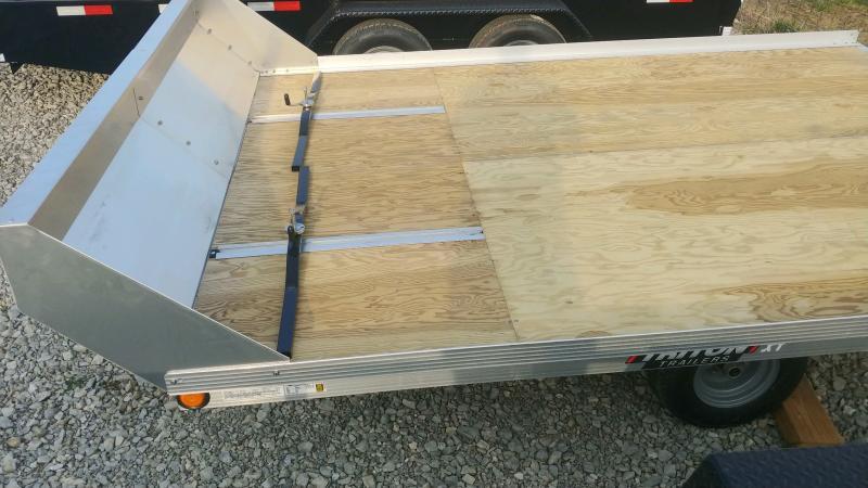 2020 Triton 8.5'x11' 2 Place Tilt W/salt Sheild Deck Over Trailer