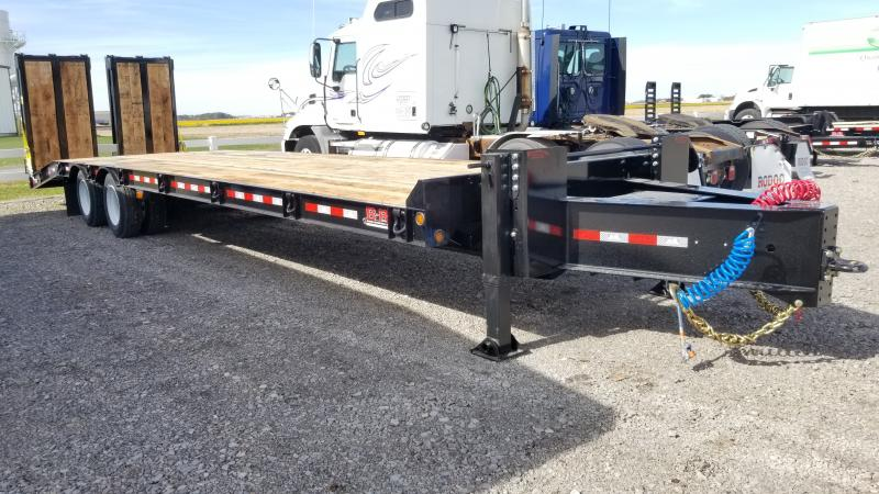 2021 B-b Trailers 8.5'x25'+6' Air Brake Do 40k Deck Over Trailer