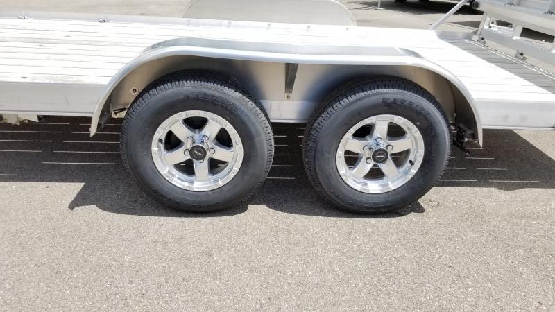 2020 Triton 7'x14' Alum 7k Wood Deck Utility Trailer