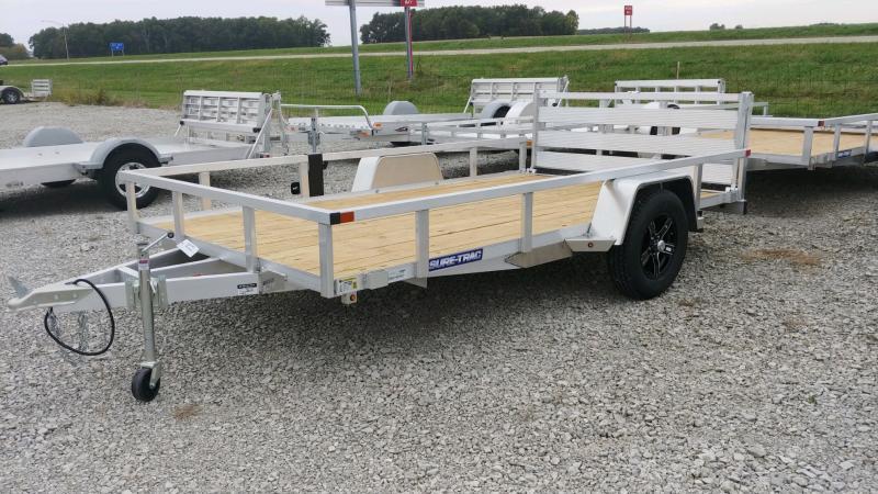 2021 Sure-trac 7x12 Tube Top 3k Alum Utility Trailer