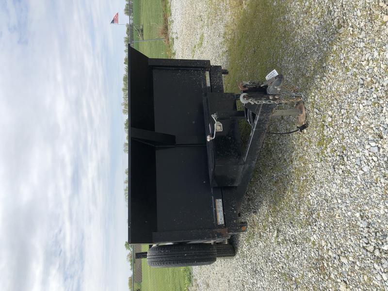 2014 Sure-trac 7x14 14k Dual Ram Dump Trailer