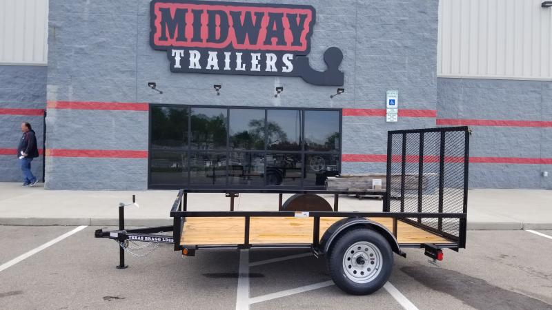 2021 Texas Bragg Trailers 6.5'X10' 3K UTILITY Utility Trailer