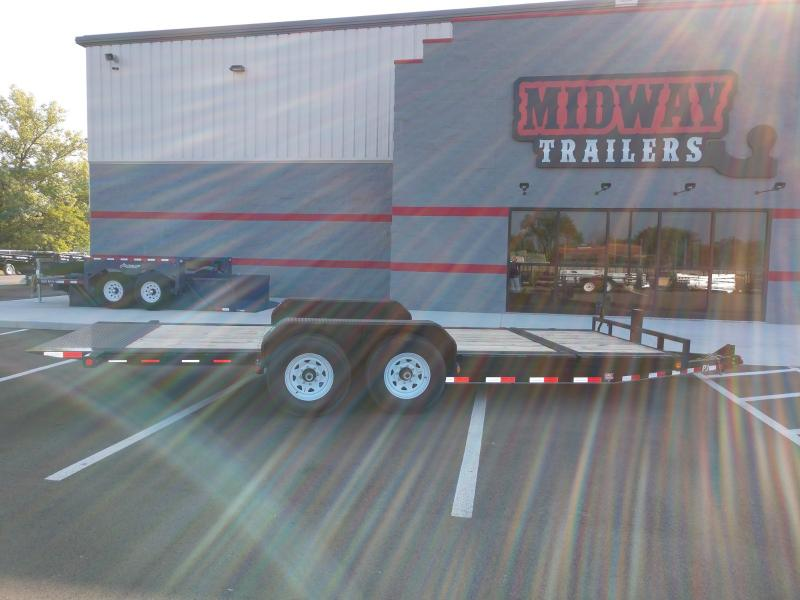 2019 Pj Trailer 7'x16'+4' Hd Tilt 14k Equipment Trailer