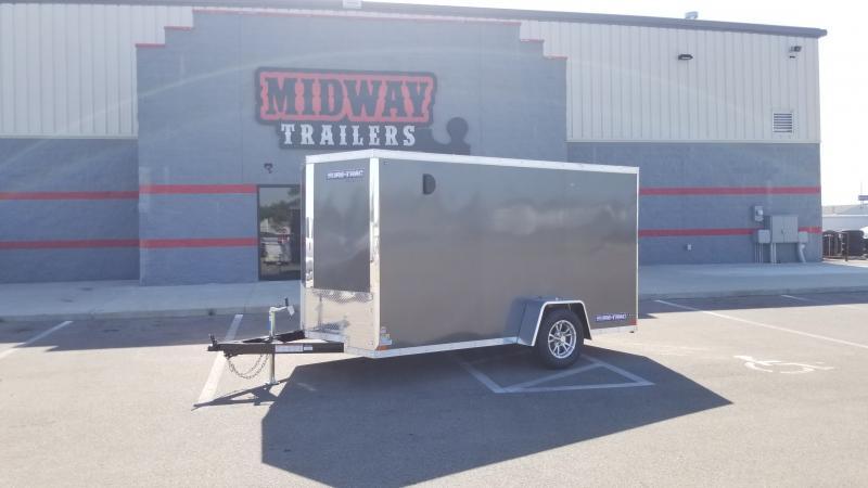 2021 Sure-trac 6'x10' 3k Charcoal Enclosed Trailer