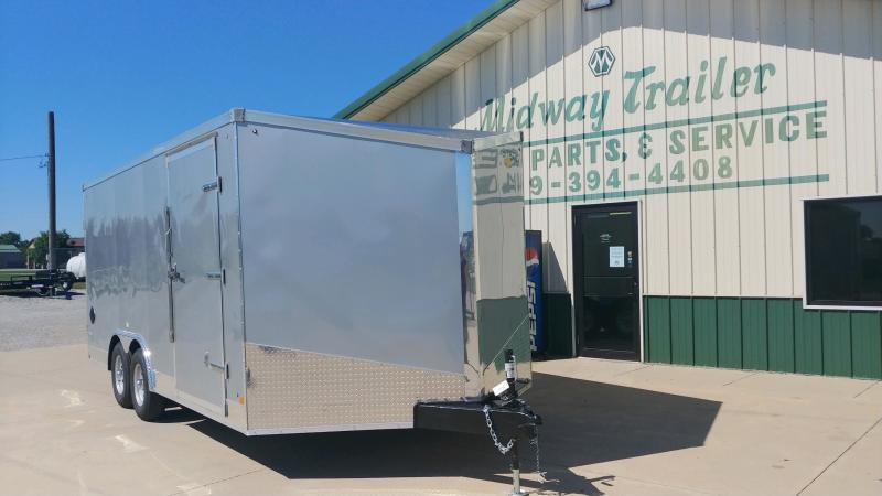 2021 Stealth 8.5x18 Titan 10k Silver Enclosed Trailer