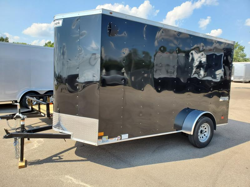 2021 Haulmark 6'x10' 3k Black Enclosed Trailer