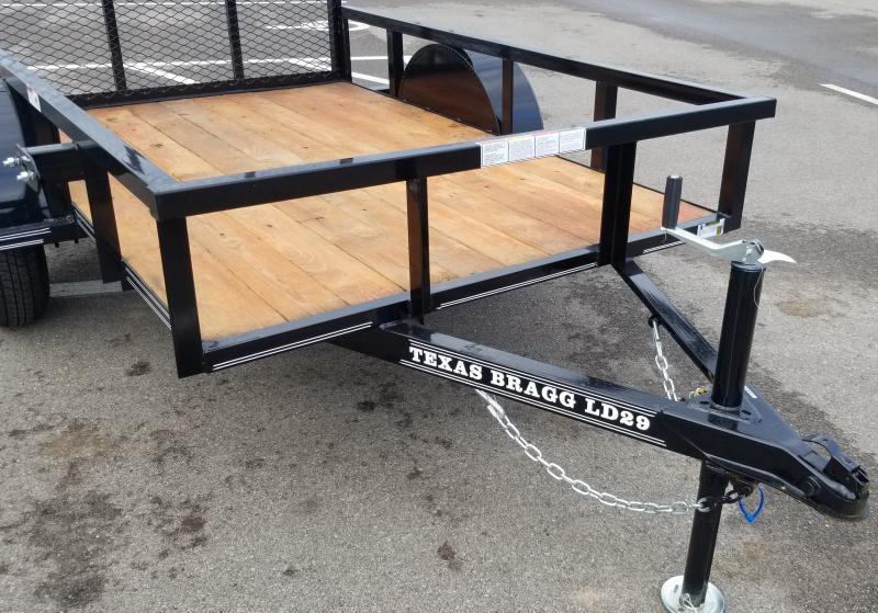 2021 Texas Bragg Trailers 5'X8' 3K UTILITY Utility Trailer