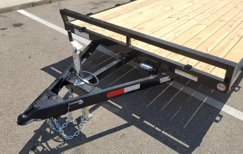 2022 Sure-Trac 7'X18' WOOD DECK 7K Car / Racing Trailer