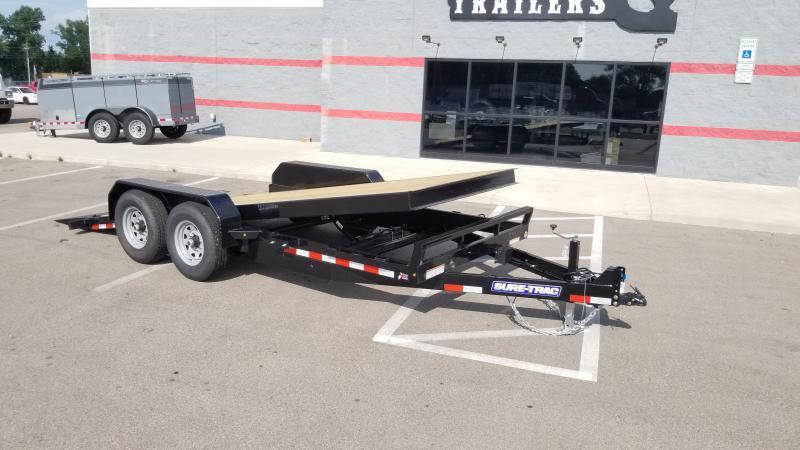 2021 Sure-trac 7'x18' Tilt 14k Equipment Trailer