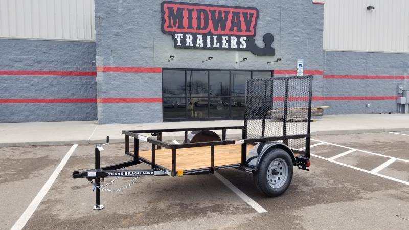 2021 Texas Bragg 5'x8' Utility 3k Utility Trailer