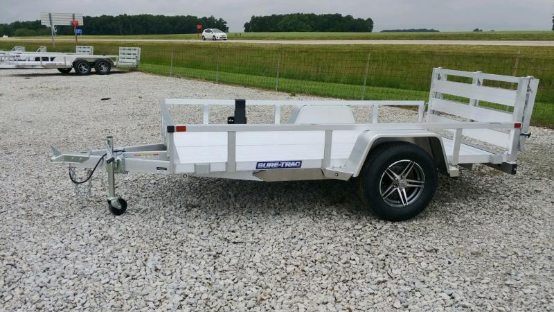 2021 Sure-Trac 6 X 10 ALUM TUBE TOP UTILITY 3K Utility Trailer