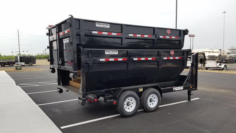 2022 PJ Trailers 7'X14' GN ROLLSTER CHASSIS 15680 Dump Trailer