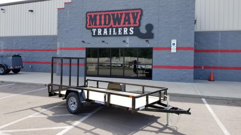 2021 Sure-trac 6'x12' Tube Top 3k Idler Utility Trailer