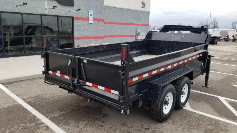 2016 Sure-trac 7'x14' 14k Gn Scissor Dump Dump Trailer