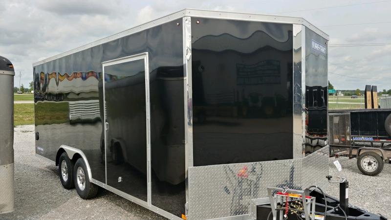 2021 Sure-trac 8.5x20 Psw 10k Black Enclosed Trailer