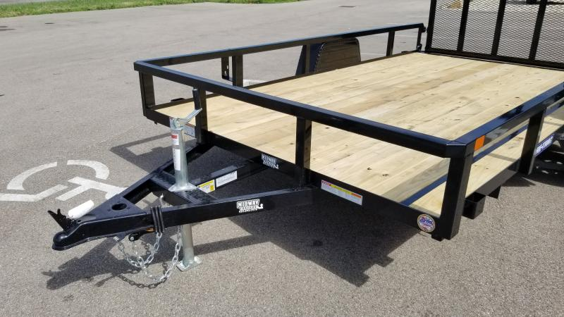 2021 Sure-trac 7x12 Tube Top 3k Utility Trailer