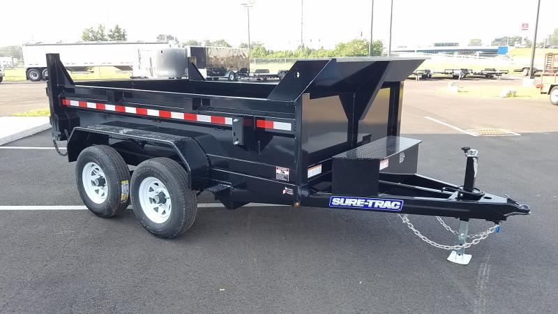 2022 Sure-Trac 6'X10' LOW PRO DUMP 10K Dump Trailer