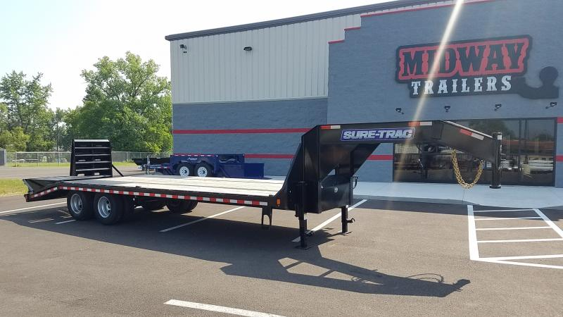 2021 Sure-trac 8.5'x20'+5' Hd Lp Gn Beavertail 22.5k Deck Over Trailer