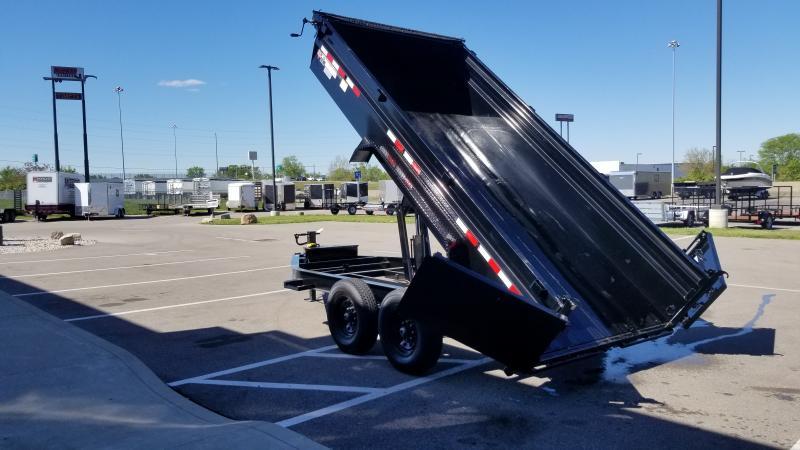 2022 PJ Trailers 7'X14' SCISSOR 14K Dump Trailer