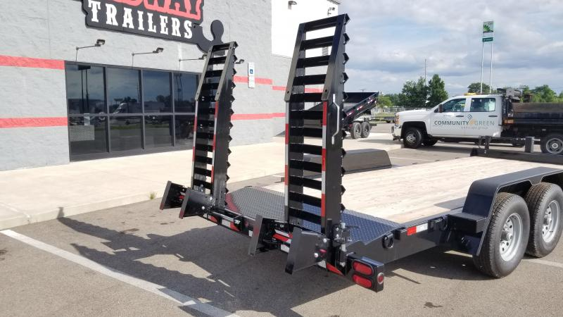 2021 B-b Trailers 7x18 Equipment 14k Equipment Trailer