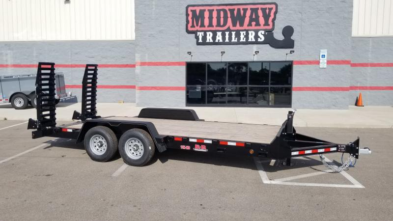 2021 B-b Trailers 7x18 Equipment 14k Equipment Trailer