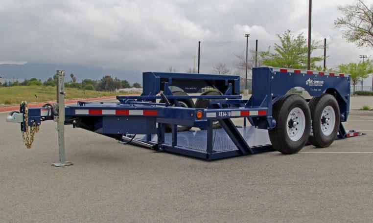 "2020 Air-tow 75""x14' Drop Deck 14k Equipment Trailer"