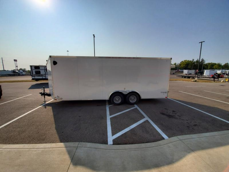 2021 Stealth 8.5'x20' 10k White Enclosed Trailer