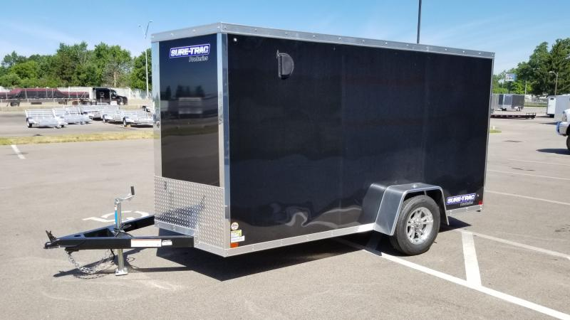 2021 Sure-trac 6x12 Pro Series Wedge Cargo Enclosed Trailer