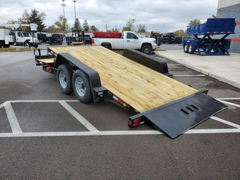 2020 B-b Trailers 7'x16'+6 Tilt 16k Equipment Trailer