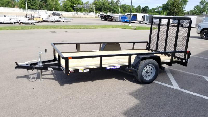 2021 Sure-trac 6'x12' Tube Top 3k Utility Trailer