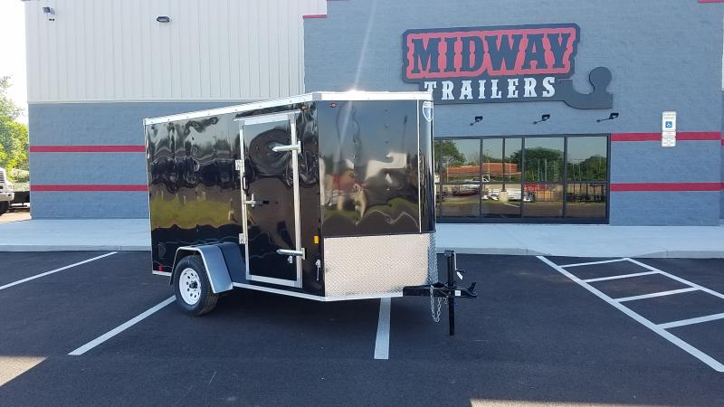 2020 Interstate 6'x10' 3k Black Barn Door Enclosed Trailer