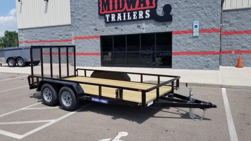 2021 Sure-trac 7'x14' 7k Tube Top Utility Trailer