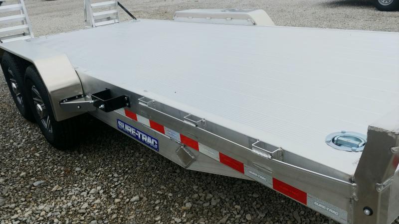 2021 Sure- Trac 7 X18 Aluminum Imp 14k Equipment Trailer