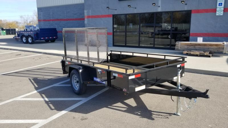 2021 Sure-trac 6'x10' Steel High Side 3k Utility Trailer