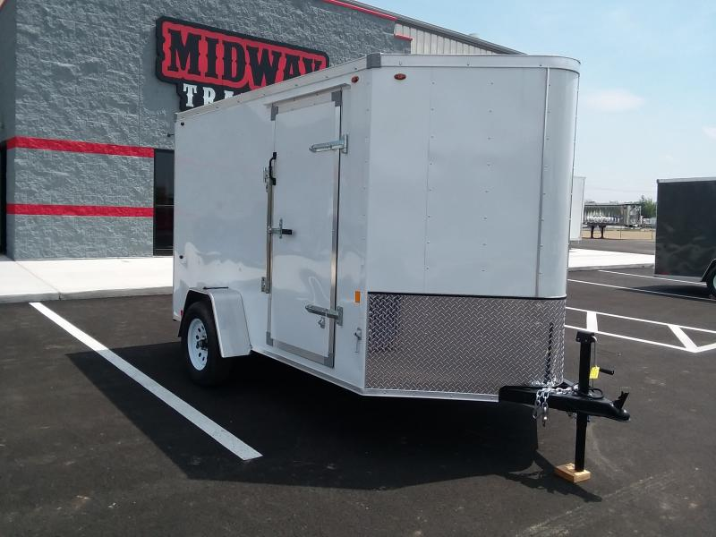 2020 Interstate 6'x10' 3k White Enclosed Trailer